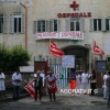(VIDEO) MONTEROTONDO, SIT-IN ALL&#8217;OSPEDALE SANTISSIMO GONFALONE CONTRO I TAGLI AL PERSONALE