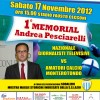 A MONTEROTONDO VA IN SCENA IL 1 MEMORIAL ANDREA PESCIARELLI