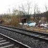 Nomentano, sgomberate dai vigili baracche lungo la ferrovia Val D'Ala